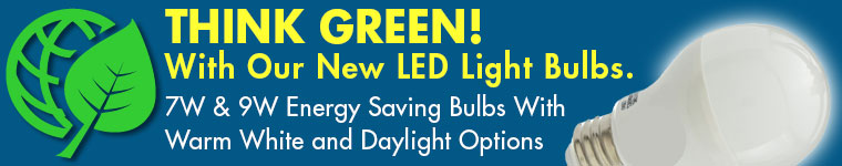 New LED Light Bulbs!