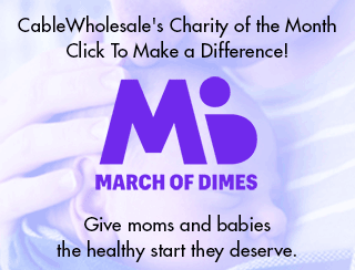 Our January charity is March of Dimes.
