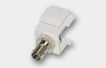 ST Fiber Optic Keystone Module/Coupler