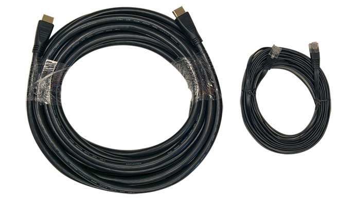 HDMI cable vs Flat Cat5E cable