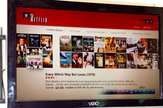 Netflix in Windows Media Center