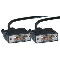Cisco Compatible Serial Cable, HD60 Male, DTE / DCE, 10 foot - Part Number: 10CO-07106