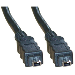 Firewire 400 4 Pin cable, IEEE-1394a, 10 foot - Part Number: 10E3-03110