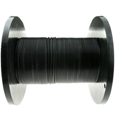 2 Fiber Indoor/Outdoor Fiber Optic Cable, Multimode, 62.5/125, Black, Riser Rated, Spool, 1000 foot - Part Number: 10F3-202NH