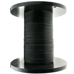 6 Fiber Indoor/Outdoor Fiber Optic Cable, Singlemode, 9/125, Black, Riser Rated, Spool, 1000 foot - Part Number: 10F3-006NH