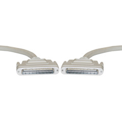 SCSI III cable, HPDB68 (Half Pitch DB68) Male, 34 Twisted Pairs, Screw, 6 foot - Part Number: 10P2-24106