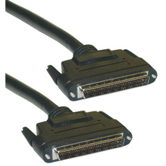 SCSI III LVD cable, Black, HPDB68 (Half Pitch DB68) Male, 34 Twisted Pairs, 3 foot - Part Number: 10P2-39103