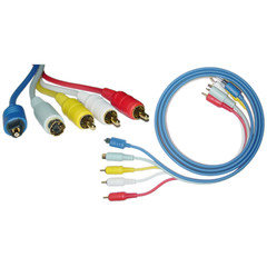 All-In-One, 3 x RCA / S-Video / Toslink, 1.5 meter (5 foot) - Part Number: 10S2-02105