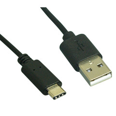 USB 2.0 Type A Male to Type C Male - 480mb - 1 Meter (3.28ft) - Part Number: 10U2-32101