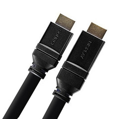 Plenum Active HDMI Cable, High Speed w/ Ethernet, HDMI Male, 24 AWG, 75 foot - Part Number: 11V3-31175