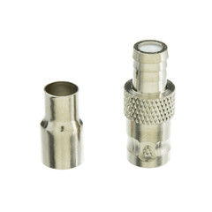 BNC Female Crimp Connector for RG59/62, 2 Piece - Part Number: 200-135