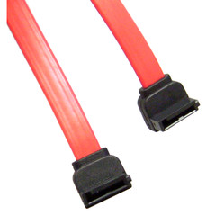 Serial ATA (SATA) Cable, Dual Right Angle Connectors, Internal, 0.5 meter (1.5 foot) - Part Number: 21SA-5505M
