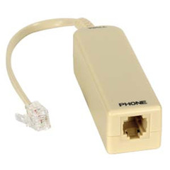1 Port Single Line ADSL Filter - Part Number: 300-10200