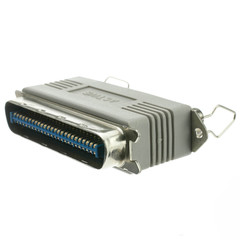 SCSI Terminator, Centronics 50 (CN50) Male to Centronics 50 (CN50) Female, Two End, Active - Part Number: 30C2-04210