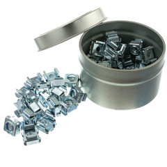 10-32 Cage Nuts, 50 Pieces - Part Number: 30D1-04350