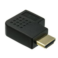 HDMI Horizontal Adapter, HDMI Male to HDMI Female - Part Number: 30HH-50260