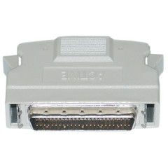 External Active SCSI Terminator, HPDB50 (Half Pitch DB50) Male, One End - Part Number: 30P1-03510
