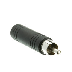 1/4 inch Mono Female Phono to RCA Male Adapter - Part Number: 30S1-15300