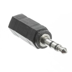 2.5mm Stereo Female to 3.5mm Stereo Male Adapter - Part Number: 30S1-25300