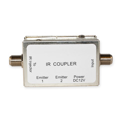 IR Over Coaxial Cable Coupler/Extractor, Extracts Injected IR Signal from Coaxial Cable, 12 Volts DC 200 mA, Max Distance 200 feet - Part Number: 30T3-00200