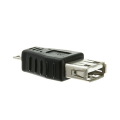 USB A Female to USB Micro B Male Adapter - Part Number: 30U1-06100