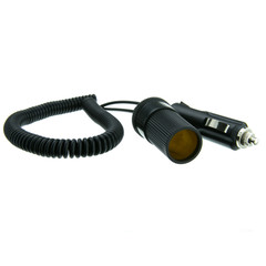 12v DC Cigarette Lighter Power Extension Cable for Cars, Boats, and RVs, 6 foot - Part Number: 30W1-02200