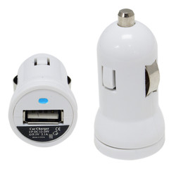 1 Port iPad and Cellular Car Charger, 12 to 24 Volt DC Power Input, 5 Volt DC / 2100 mA Output - Part Number: 30W1-29110