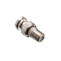 F-pin Female to BNC Male Adapter - Part Number: 30X3-03100