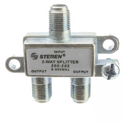 F-pin Coaxial Splitter, 2 Way - Part Number: 30X4-03202