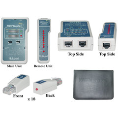 NETfinder Pro 3 test Sequences, Tone Generator, Portfinder, 18 remotes cable organizer - Part Number: 31D1-56653