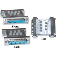 DB25 Male / DB25 Female, Mini Tester, Assembled (Box of 300) - Part Number: KIT-31D3-41200