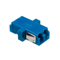 Fiber Optic Coupler, LC/LC Female, Duplex, Plastic Housing - Part Number: 31F1-LL410