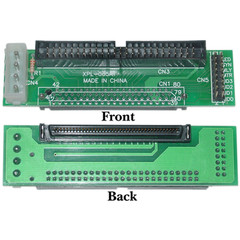 SCSI Adapter, HPCN80 (SCA80F) Female to IDC 50 Male - Part Number: 31N8-02300