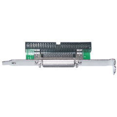 SCSI Computer Slot Adapter, Internal IDC 50 Male to External HPDB50 (Half Pitch DB50) Female - Part Number: 31P1-10300