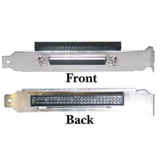 SCSI Computer Slot Adapter, Internal IDC 50 Male to External HPDB68 (Half Pitch DB68) Female - Part Number: 31P2-32300