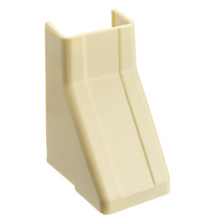 1.25 inch Surface Mount Cable Raceway, Ivory, Ceiling Entry - Part Number: 31R2-004IV