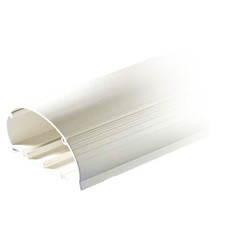 Cable Raceway, White, Base and Cover for Multi-Channel 4 inch Raceway, 8 foot - Part Number: 31R4-010WH