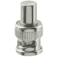 BNC Male Terminator, 75 Ohm, 1% - Part Number: 31X3-01750