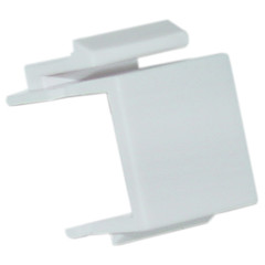 Keystone Insert, White, Blank - Part Number: 321-120WH