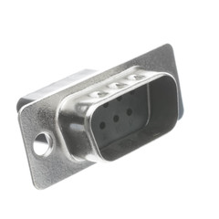 DB9 Male Serial Crimp Housing - Part Number: 3309-009M