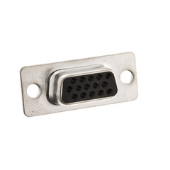 HD15 Female VGA / PC Video Crimp Housing - Part Number: 3309-115F