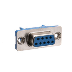 DB9 Female IDC Ribbon Right Angle Connector - Part Number: 3430-14009