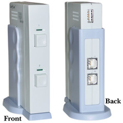USB 2.0 AB Switch Box, 2 PC to 1 USB 2.0 Device (Printer, Scanner, etc...) - Part Number: 40121A