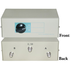 AB 2 Way Switch Box, BNC Female - Part Number: 40B1-01602