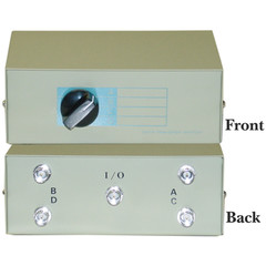ABCD 4 Way Switch Box, BNC Female - Part Number: 40B1-01604
