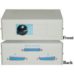AB 2 Way Switch Box, DB25 Female - Part Number: 40D3-17602
