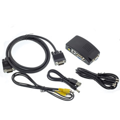 PC to TV Video Converter, VGA to Composite Video or S-Video - Part Number: 41CV-50230