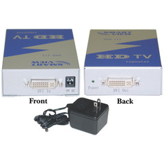 DVI-D Digital (HDTV) Extender / Repeater, HDCP compliant - Part Number: 41DR-00111
