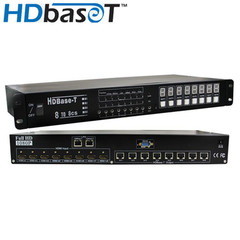 HDBaseT HDMI Matrix, 8x8, 100 meter - Part Number: 42V3-18800