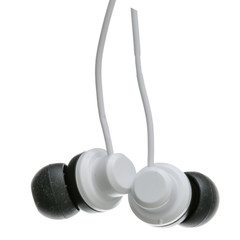 JVC Riptidz Inner-Ear Earbuds, White - Part Number: 5002-011WH
